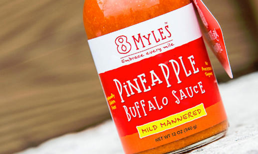 8 Myles Pineapple Buffalo Sauce