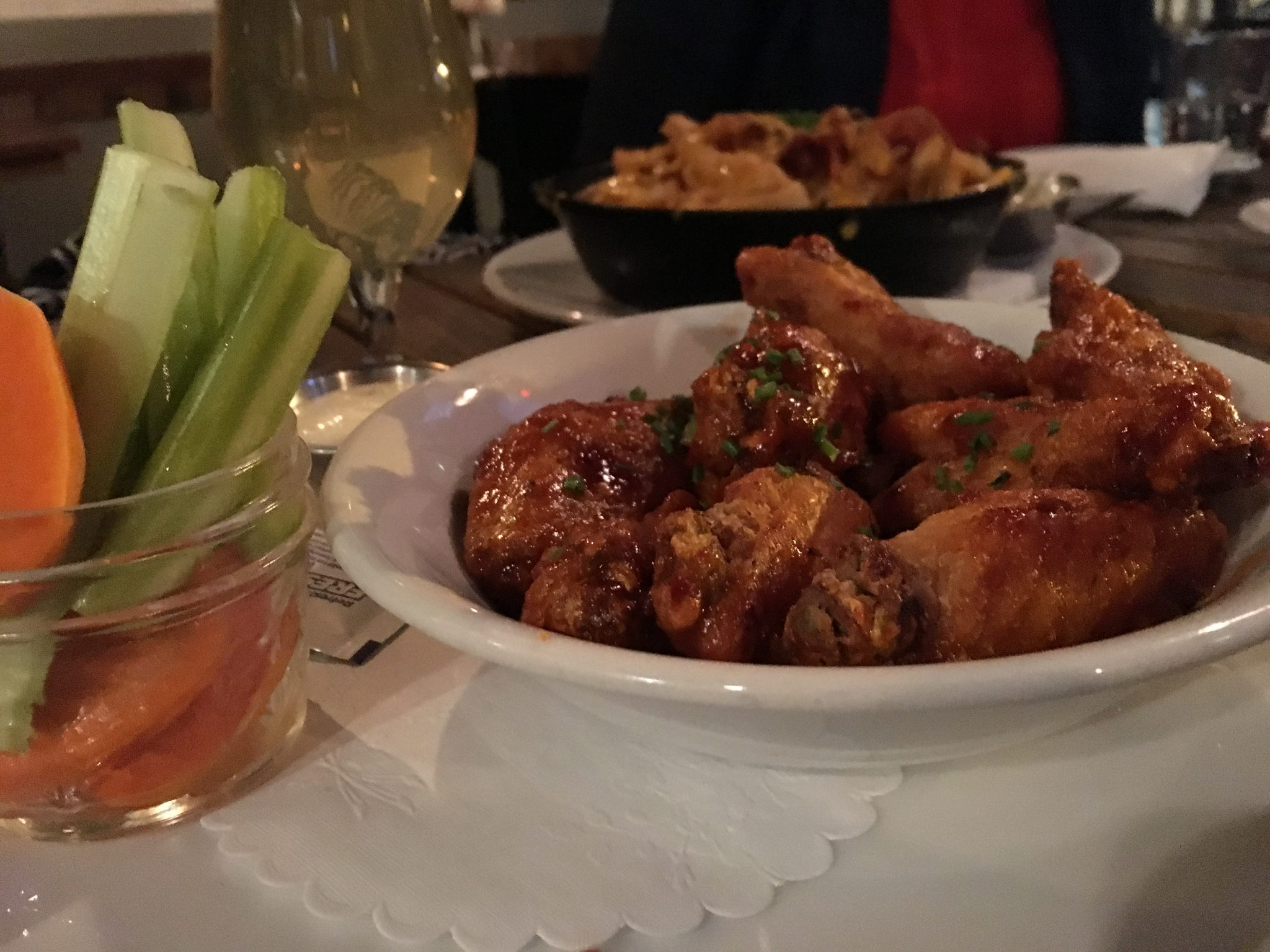 Carving Room Honey Harissa Chicken Wings | District of Wings